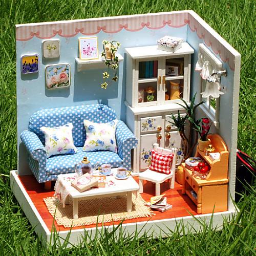 Маленькие домики для кукол своими руками