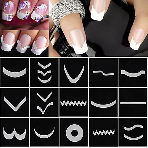 Формы для ногтей сделать своими руками