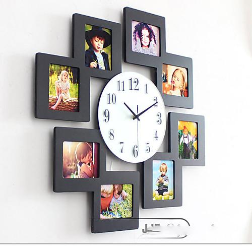 Как сделать часы израмок на стену